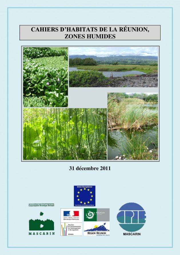 Cahiers d'habitats de la Réunion, zones humides
