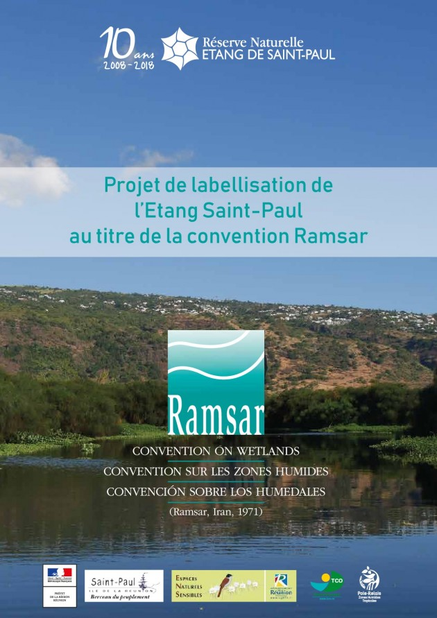 Projet de labellisation de l'Etang Saint-Paul au titre de la Convention Ramsar