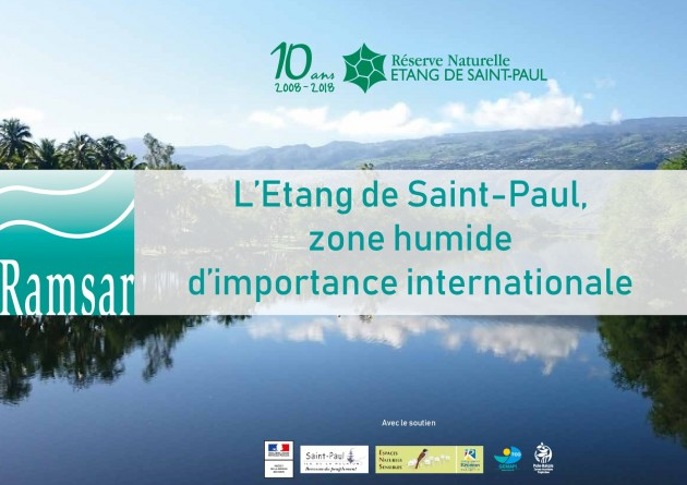 Etang Saint-Paul, Zone humide d'importance internationale Ramsar