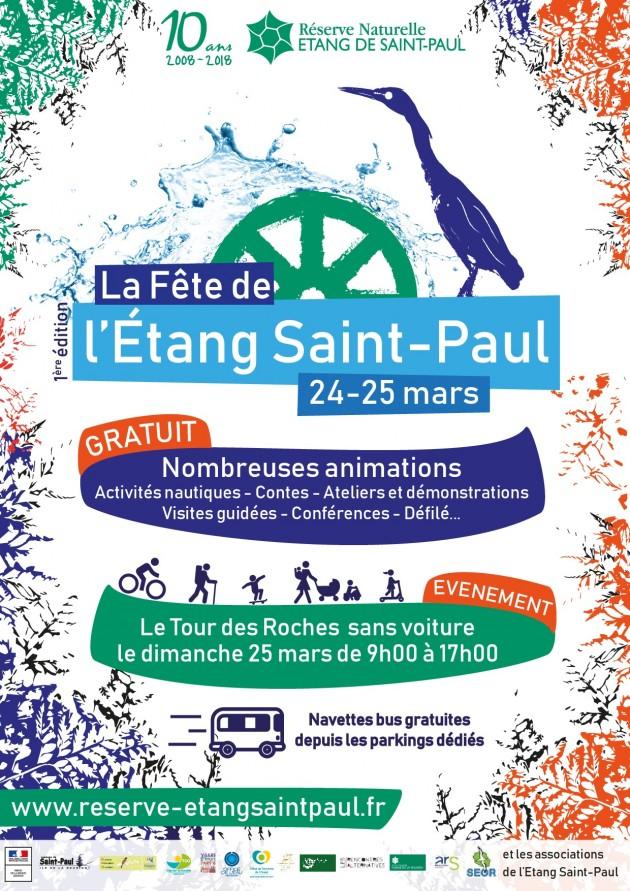 Programme de la Fête de l'Etang Saint-Paul