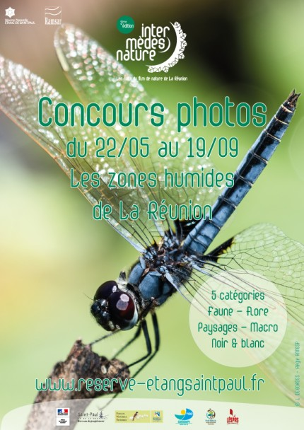 3ème édition du concours photo : Les zones humides de La Réunion