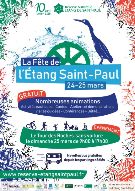 La Fête de l'Etang Saint-Paul,  le programme est sorti !